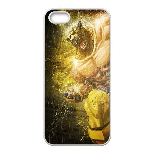 Street Fighter X Tekken, Fighter, Head, Angry coque iPhone 4 4s cellulaire cas coque de téléphone cas blanche couverture de téléphone portable EEECBCAAN04477