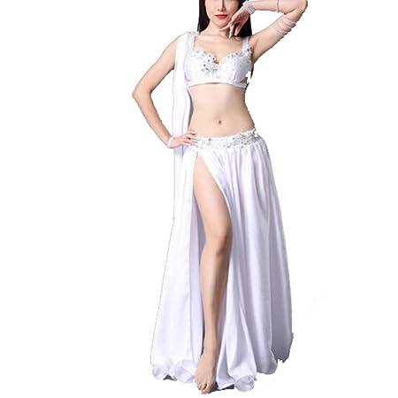 YuYzHanG Ropa De Baile Mujer Falda Conjunto De Espectáculo De ...