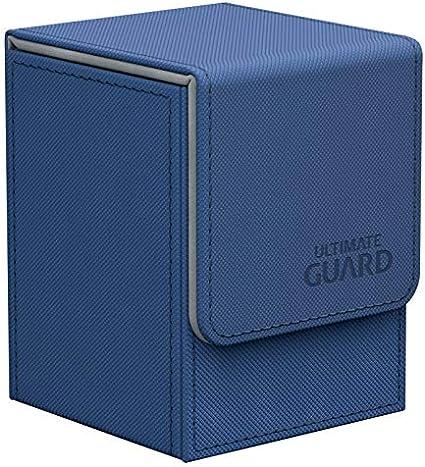 ULTIMATE GUARD XENOSKIN FLIP DECK CASE Standard Size BLACK 100 MTG Card Box
