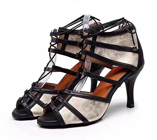 Nero 5cm Joymod Moderno EU e Heel 35 8 Donna MGM Jazz Black nXq8fAf