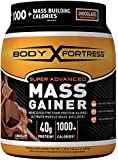 Body Fortress Super Advanced Mass Gainer, Chocolate, 2.25 Pounds