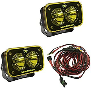 product image for Baja Design S2 Pro Pair Spot LED Amber 487811