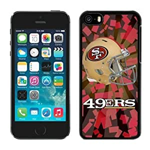 NFL San Francisco 4 ers iphone 5C Casecell phone cases&Gift Holiday&Christmas Gifts NFIU8716278