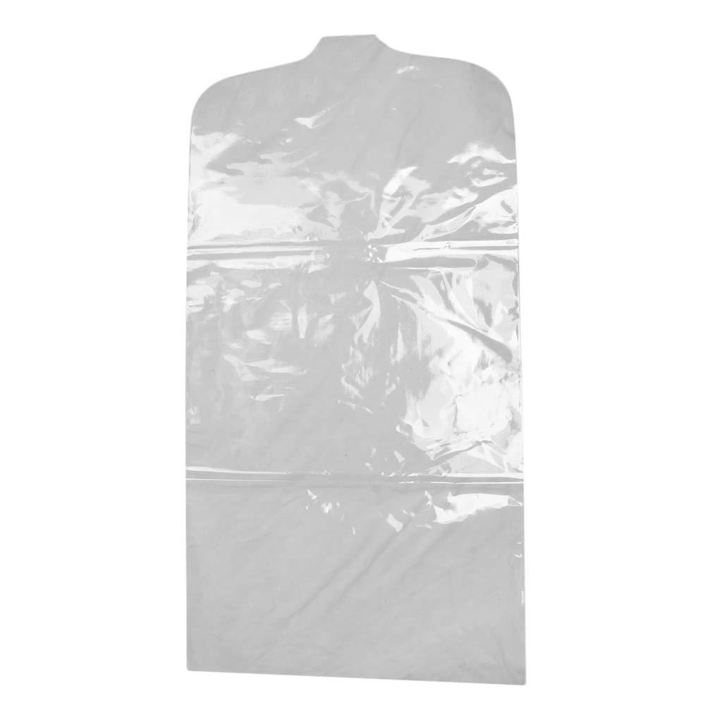 Chiaro IPOTCH Copri-abiti Trasparenti Anti-polvere Protezione Sporcizia Umidit/à Sospesa Per Mobile Viaggio 55 x 110 cm