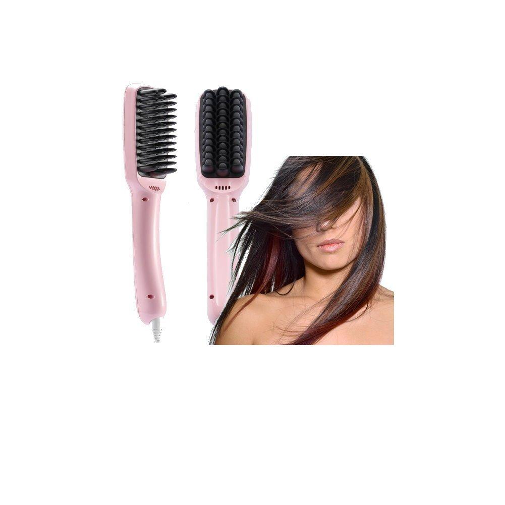 Y Bargain Professional Hair Straightener Brush with Anti Scald Anion Massage