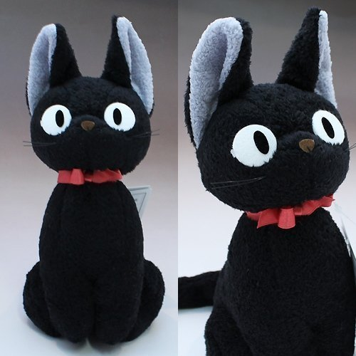 Kiki's delivery Service Jiji Plush Doll M Size Studio Ghibli Japan by Sunarrow]()