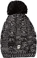 Orage Women's Angel Beanie, Black, One Size