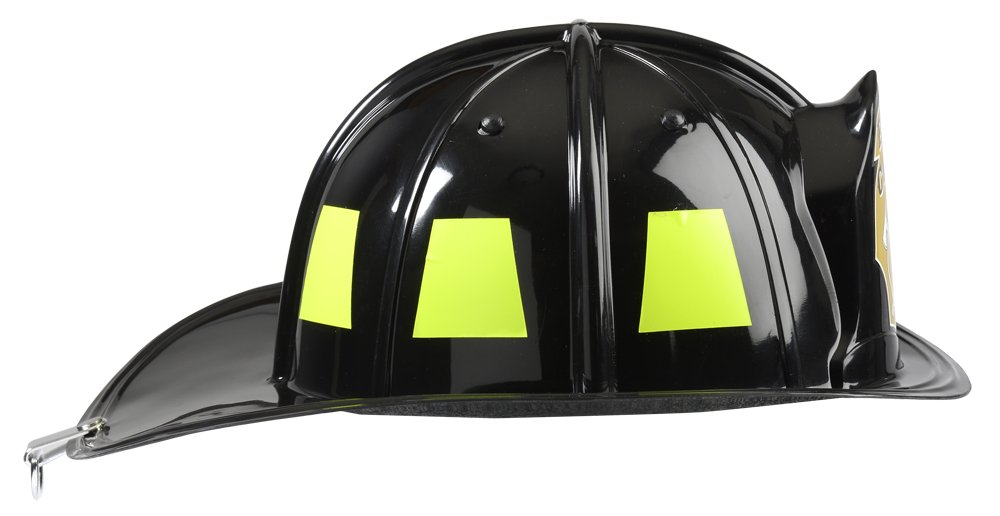 Aeromax Black Fire Chief Helmet by Aeromax (Image #2)
