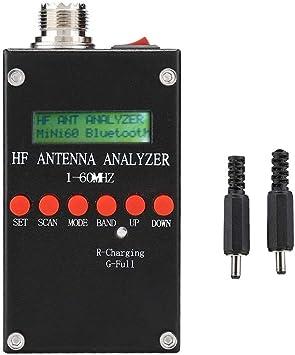 Analizador de antenas SWR Medidor Probador Analizador 2.0V pp ...
