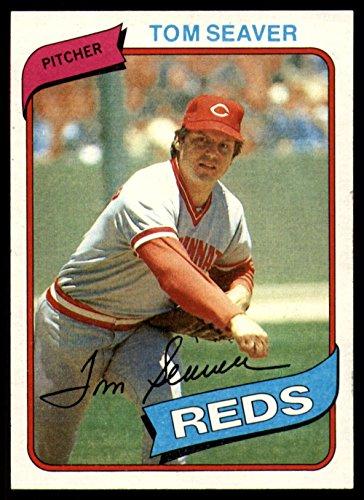Baseball MLB 1980 Topps #500 Tom Seaver Near Mint Reds