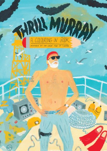 Thrill Murray (coloring book)