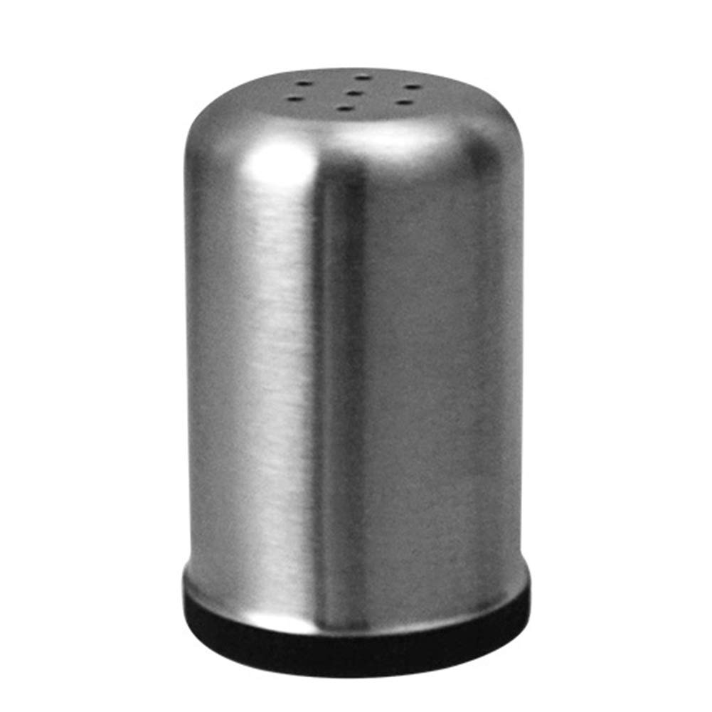 GEZICHTA condimento pot, Premium in acciaio INOX, pepe, sale Storage pot, saliera e pepiera, per la cucina, Large Five Holes, Taglia libera