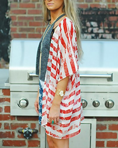 Elegante Top Ragazza Chic Giubbotto Baggy Cardigan Casual Moda Abbigliamento Maniche Colore Irregolare Estivo Rosso Donna Puro Blusa Fit Classica Slim Unique Senza UxIx7gnq