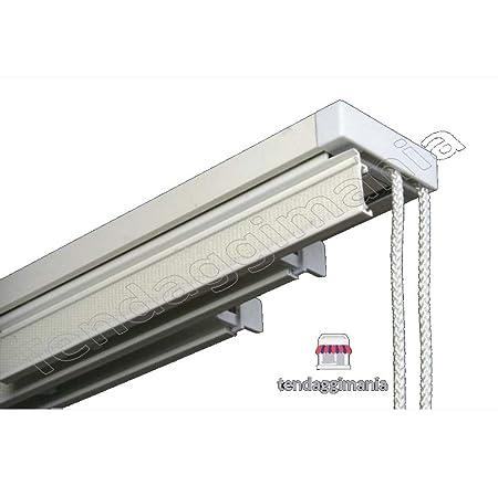 Bastone Tende A Pannello.Binario Bastone Per Tende A Pannelli Interamente In Alluminio