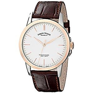 Armand Nicolet 8670A-AG-P670MR1 - Reloj de Pulsera Hombre, Color marrón 2