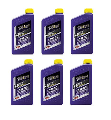 Royal Purple 31530 HPS Street Synthetic Motor Oil 5W30 Pack of 6 Quarts