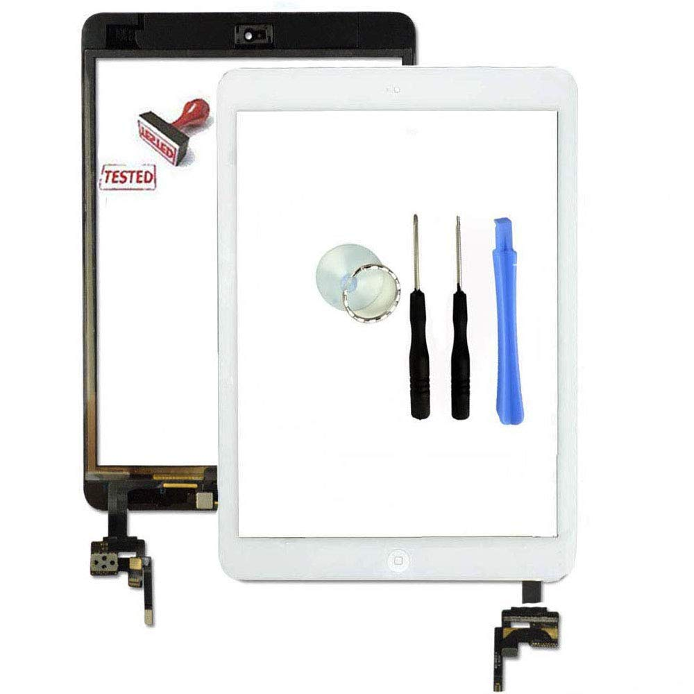 Touch Screen Glass Digitizer Replacement Fr iPad Mini 3 A1599 A1600 IC Connector