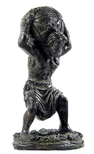 (Bellaa 22692 Atlas Holding World Greek Statue, Greek Mythology Statue)