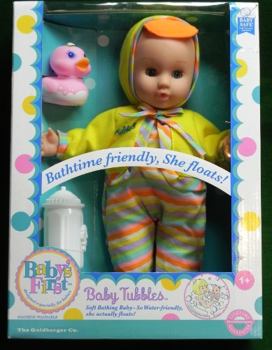 Baby's First Tubbles Baby Doll, Baby & Kids Zone