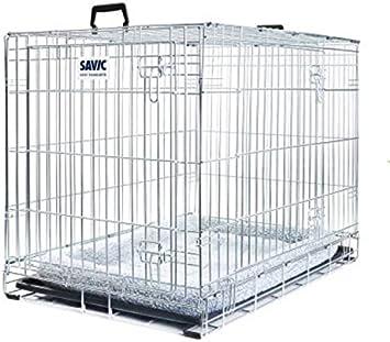 Facile A Monter En Metal Cage Pour Chien Avec Coussin Garder Votre Chien En Toute Securite