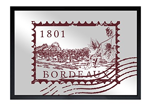 Bordeaux Collection Mirror (The Oliver Gal Artist Co. Bordeaux Mail | Framed Mirror Print for Wall Art Decor. the Classic Collection by Oliver Gal Décor Home, 30
