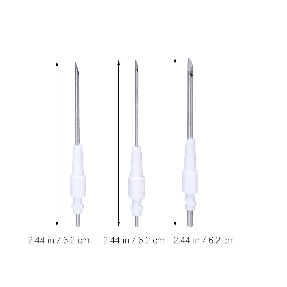 ULTNICE Bordado mágico lápiz bordado costura aguja herramienta de artesanía aguja conjunto de aguja para bordado hilo de coser diy: Amazon.es: Hogar