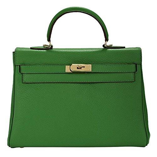 Macton, Borsa a mano donna Green 32CM