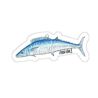 Fish On! Air Freshener (Wahoo): Automotive