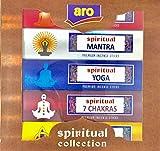 Aro - Spiritual Collection Premium Incense Sticks - Spiritual GURU, Spiritual MANTRA, Spiritual YOGA, Spiritual 7 CHAKRAS, & Spiritual WISDOM - buy only at E_Retail Deals.
