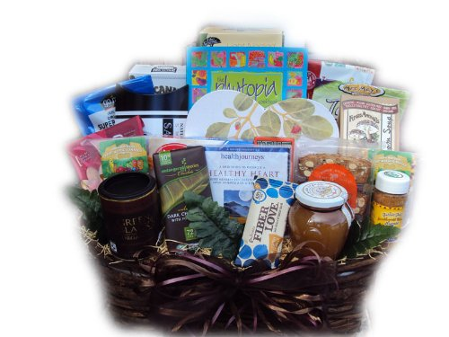 Get Well Gift Basket - Heart Healthy by Well Baskets by Well Baskets