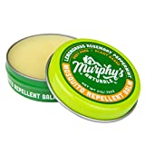 Murphy's Naturals Mosquito Repellent Balm | Anti-Mosquito DEET Free Plant-Based Ingredients Include Lemongrass, Rosemary, Peppermint and Beeswax | Made in USA | Pocket Size 0.75 oz