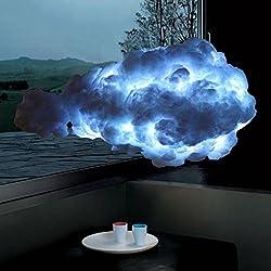 Creative Cloud Chandelier,American country Handwork Living room Restaurant E27 White-C diameter60cm(24inch)