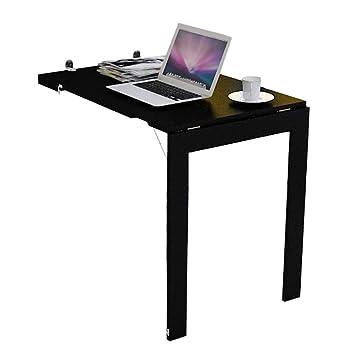 Mesa plegable plegable de pared, escritorio de computadora ...