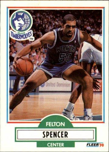 1990-fleer-update-basketball-rookie-card-1990-91-u57-felton-spencer-near-mint-mint