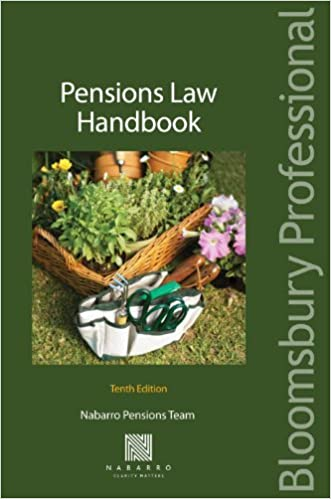 Book Pensions Law Handbook