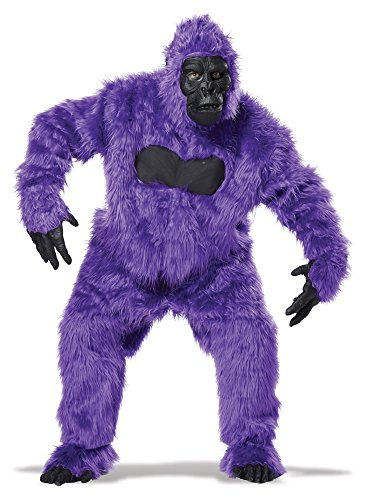 California Costumes Men's Full Gorilla Suit Costume, Purple, One -