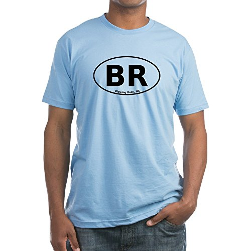 CafePress - Blowing Rock, NC Euro - Fitted T-Shirt, Vintage Fit Soft Cotton - Nc Rock Blowing City Of