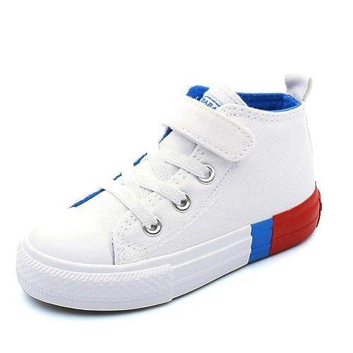 961759845 Altos Zapatos de Lona para niños