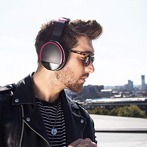 65050e70c3e ... Microphone Hi-Fi Deep Bass Wireless Headphones Over Ear 20 Hour  Playtime for Travel/Work/TV/Computer/Phone – Rose. -25%. Previous; Next
