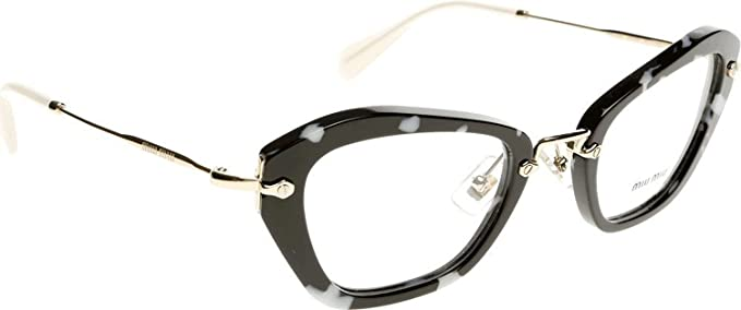 77c150158619 Image Unavailable. Image not available for. Colour  Miu Miu MU 05NV PC71O1  Eyeglasses