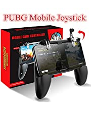 PUBG Mobile Joystick Gamepad Metal L1 R1 Button All-in-One Mobile Game Controller Free Fire PUGB for Android iPhone 6 7 8 plus (Color : Gamepad 01)