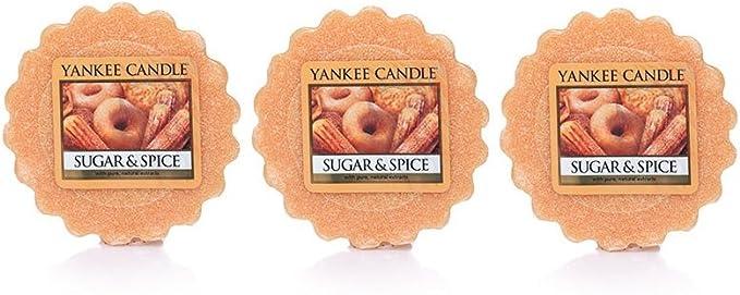 Yankee Candle Set of 3 Sparkling Vanilla Tarts Wax Melts FREE Ship NEW