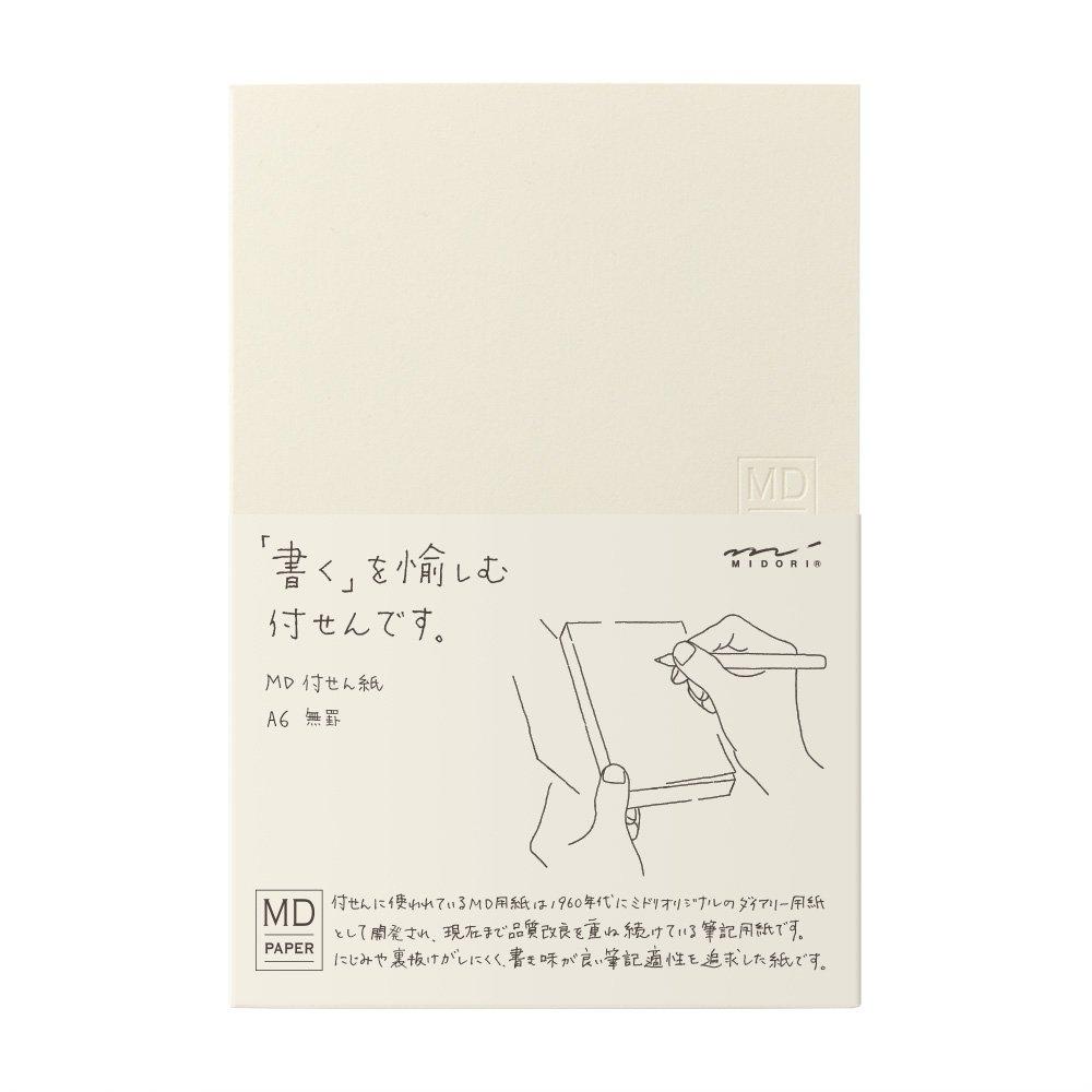 Midori 19032006-Blocco di fogli adesivi, A6