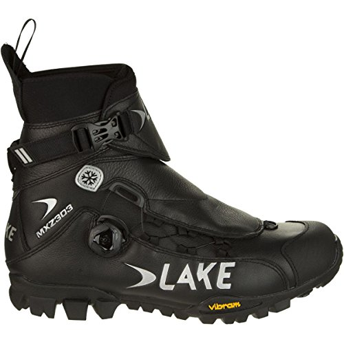 Lake MXZ 303 Winter Boot - Men's Black, 45.0