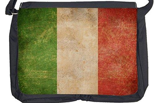 Borsa Tracolla Viaggio Mondo Italia Stampato