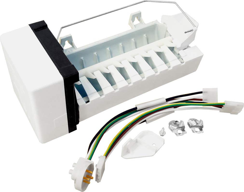 ClimaTek Upgraded Refrigerator/Freezer Icemaker & Harness for Whirlpool W10190981