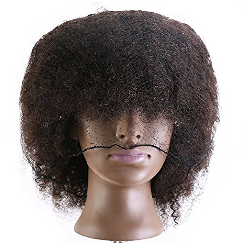 Amazon.com : Manikin Head Cabeza Manikins Para Peluca Cabello Pelo Profesional Afro Mannequin Head 100% : Everything Else