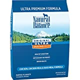 Natural Balance Original Ultra Whole Body Health Dry Dog Food, Chicken, Chicken Meal, Duck Meal Formula, 15-Pound