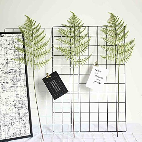 ☀ Dergo ☀ Artificial Fern Leaf Plant Floral Plant Tree Branch Green Wedding Home Decor ()
