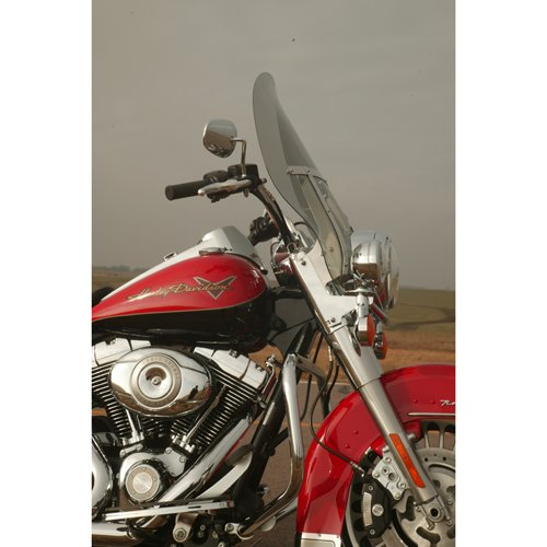Klock Werks #KW05-01-0219 18 Tint Billboard Flare Windshield For Harley-Davidson Road King Models With H Bracket